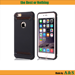 Two layers Protective Durable TPU Case for iPhone 6 Mobile Phone Cover