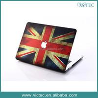 UK Plastic Hard Rubberized Case for Macbook Pro 13.3 15.4