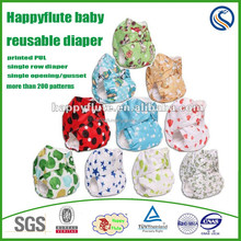 2015,happyflute baby cloth diaper factory, reusable,one size fits all,THX organic nappy, wholesale toddler products,China