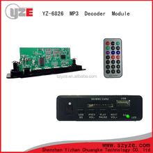 hot selling usb sd aux car audio mp3 decoder module board
