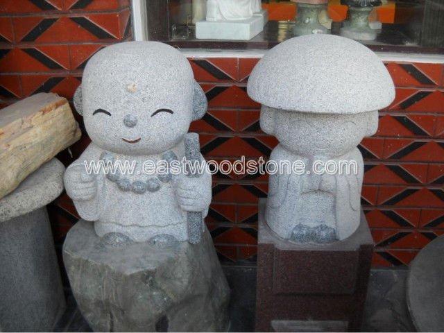 Japonés de granito figura de talla