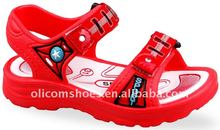 2013 new model flat sandals for boys