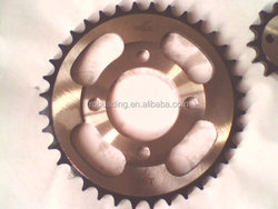 motorcycle chain sprockets wheel;motorcycle rear sprockets