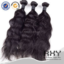 top quality no shedding tangle free 100% virgin natural false hair