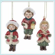 Vintage polyresin christmas ornament hooks