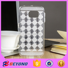 3 in 1 design mobile phone back cover case for samsung galaxy s6 edge, for samsung phones wholesale