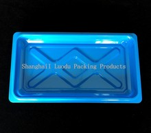 Disposable plastic box for wet floor wipes, pvc blister box, plastic container with lid