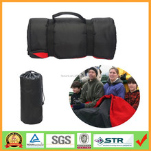 Roll up All Purpose Waterproof Fleece Picnic Camping Blanket Mat with Drawstring Bag