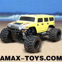 gt-01801 1 4 scale gas rc cars 35cc Gasoline power Monster Truck
