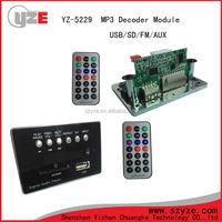 Shenzhen Supplier usb sd mp3 audio player circuit board