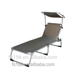 high quality steel/Alu folding chaise lounge