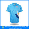 China clothing manufacturing cheap polyester polo t shirt factory