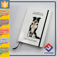 2016 hot sales a5 thick hardcover paper note book