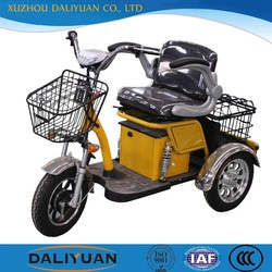 electric passenger three wheel electric tricycle motor tricycle