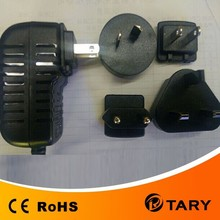interchangeable jack power supply 12V 1A/interchangeable jack power supply/nterchangeable jack power adapter