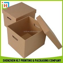 Chinese Factory Custom Shipping Kraft Corrugated Box