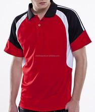 High Quality Latest Design contrast color Polo Shirt