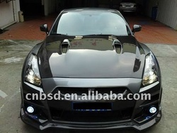 09-10 BSD Exotic Carbon Fiber Hood for Nissan Gtr R35