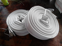 Used canvas fire hose
