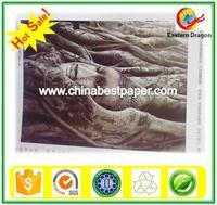 Hi-bulk 275g Coated Art Paper Glossy 67% for making presentation folder