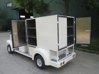 fast food van for sale, house keeping food, delivery vehicle, CE, electric vehicle, EG6063KXC