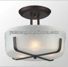 UL certified classic semi pendant light & ceiling lamp