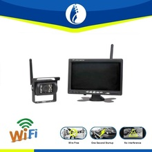 7 inch lcd Wireless Reversing Camera monitor, car rear view reverse camera DVR for Trucks and bus welcome inquiry