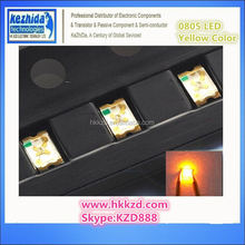 Brand New low price 0805 2012 SMD/SMT Surface Mount Yellow Ultra Bright LED SMD Light Emitting Diode LED Diode Lamp