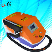 New style useful 532 nm q switched nd yag laser tattoo removal machine FP