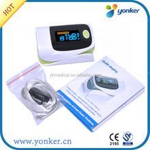 Home care mini portable clip spo2 sensor pulse oximeter finger price