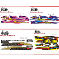 Sticker kit for Dirt Bike Pit Bike Motorcycle Racing Decals