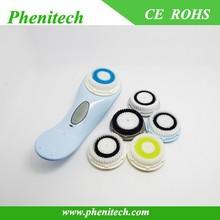 multi-color innovative design portable electronic facial brush