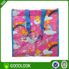 2014 new design rpet factory price high quality recycled pp woven bag GL165