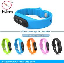 Smart concept E06 smart bracelet with sdk top smart bracelet touch screen