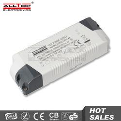 Plastic housing high efficiency 12v 60w constant voltage led driver