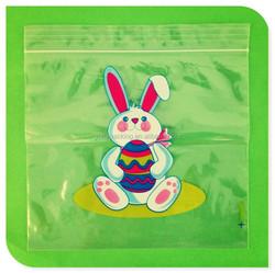 Custom Plastic easter bunny gift bag