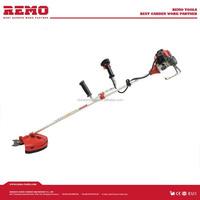 42.7cc brush cutter BC430A more portable than diesel lawn mower engine