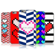 Well-designed Heart Pattern PC Protective Phone Case Cover Case For Iphone 6