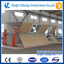 flexible prefabricated container house for camp office workshop guard