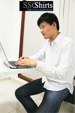 Sscshirts 2014 100% casual hombres de moda camisas de lino