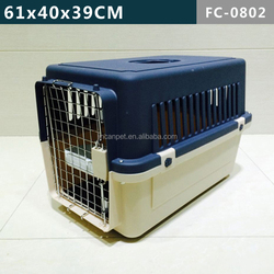 Pets Kennel / carriers/ cages with Single Stainless Steel Door, Dark Blue