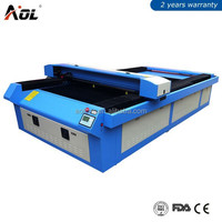 1325 laser cutting for acrylic, PVC, rubber sheet, plastic, crystal, glass, wood, bamboo , leather, cloth, double-color board