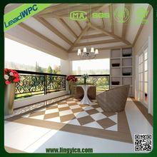 anti-impact weather- proof wpc industrial linoleum flooring