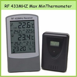 Professional RF Automatic 433mhz Wireless Weather Station