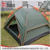 fiberglass stent outdoor Waterproof PU 2000mm automatic pop up tent