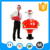 Customized size inflatable santa Christmas gift toy for advertising