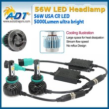 Car Headlight 50W H1 H3 H4 H7 H8 H11 LED Headlight Conversion Kit 6000K