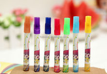 Wholesale New product Water Color Pen Erasable Rainbow Magic Pen With Logo DIY Disappearing Ink Water Brush Pen Healthy For Kids