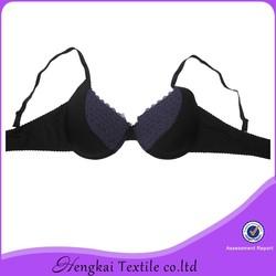 OEM manufacturer fashion sexy black hot xxx sexy push up bra