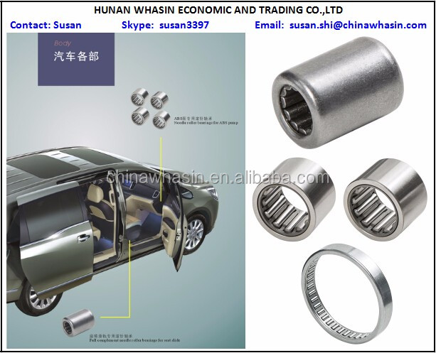 body in car parts needle roller bearings